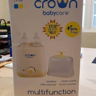 Crown Babycare multifunction steaming cr-388