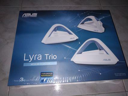 [BNIB] ASUS Lyra Trio MESH WI-FI System AC1750 (1300Mbps + 450 Mbps) (3 x Trio Hubs)