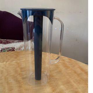 1.7 L 便攜式手抽水壺 可裝熱水 或 冷凍內管使飲料保持冰涼
