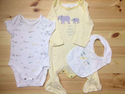 George baby suit up to 3 months