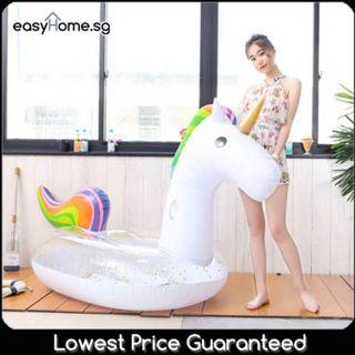 Sequinned Unicorn - Giant Adult Swimming Pool Float