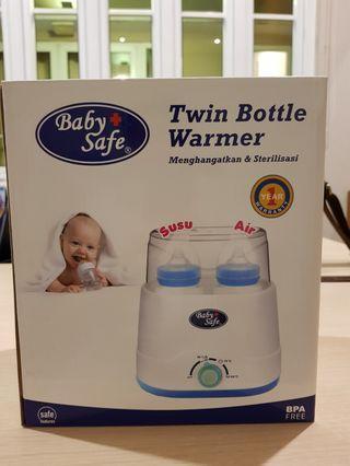 Baby safe twin Bottle warmer n Sterilizer