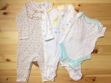 George & Kiko Babysuit Newborn Size