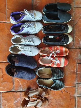 All shoes RM10 each