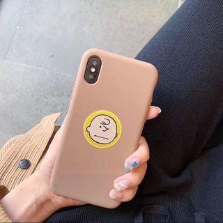 🚚 iPhone X 查理布朗手機殼