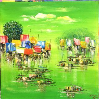 🚚 Oil Painting Wall Decor