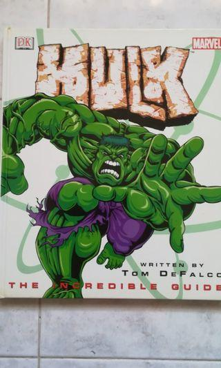 Collectibles for The Avengers/The Hulk Fans - Marvel's Hulk, The Incredible Guide by Tom DeFalco