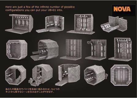 [In hand] Nova Ubiquitous Diorama Display Sets