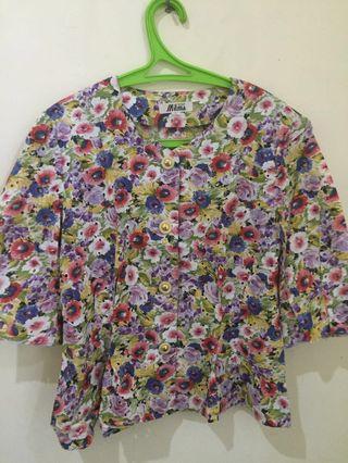 Blouse Wanita Floral