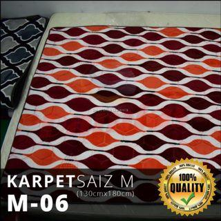 KARPET TEBAL BALDU KARPET GEBU SIZE M (130CM X 180CM)