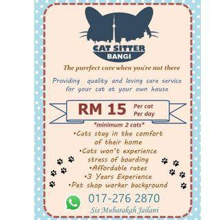 Cat Sitting (Boarding Kucing)