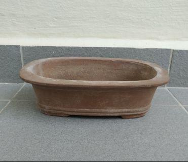 Ceramic Bonsai Pot (Unglazed)