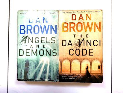 🚚 The Da Vinci Code & Angel's and Demons by Dan Brown