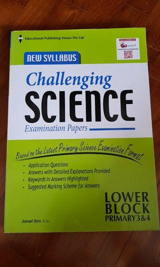 NEW: Primary 3-4 Challenging Science Exam Papers