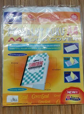 Transparent wrapping paper ~wrap book