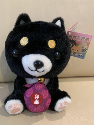 Japanese Black Dog Plush
