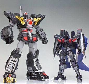 全新未開 千值練 Metamor-Force 超獸機神 斷空我 Dancougar 連黑鷹 Black Wing 非超合金魂 GX13 GX13R