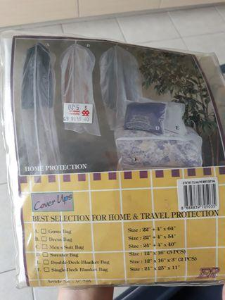 Travel protection for men's suit bag