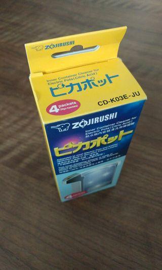象印Zojirushi 熱水瓶清洗用檸檬酸痛一盒4包