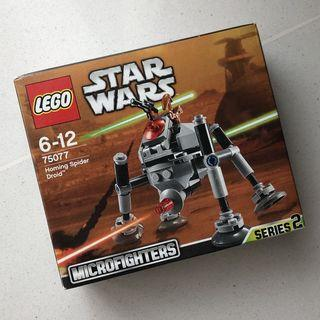 Lego Starwars Microfighters S2-75077 Homing Spider Droid
