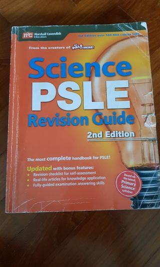 Primary School Science Revision Book.