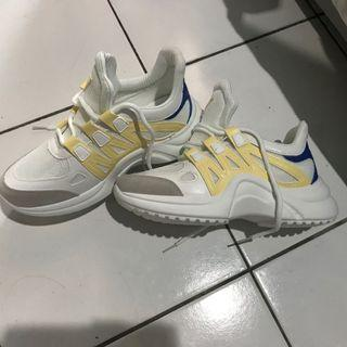 import shoes lv look alike