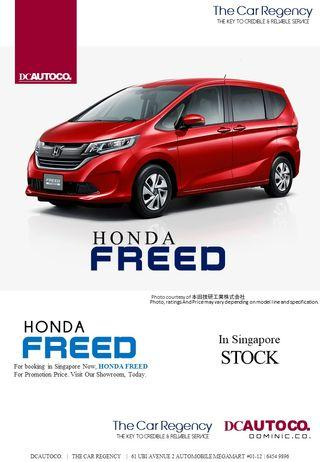 Honda Freed 1.5 G 7-Seater (A)