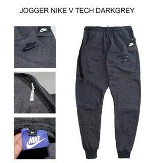 Celana Jogger NIKE V TECH JOGGER PANTS Dark Grey