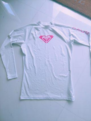 Ladies/Womens ROXY long sleeve Rash Vest (Swim/Surf/Wakeboard)