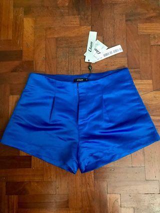 Etam blue shorts