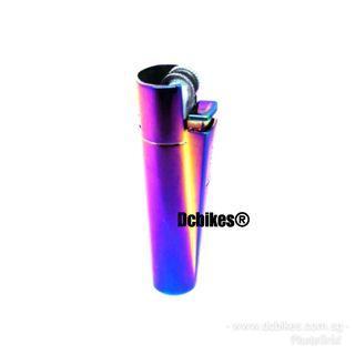 🆕! Oil Slick Jet Fuel Ultra Thin Compact Butane Gas Lighter #Dcbikes