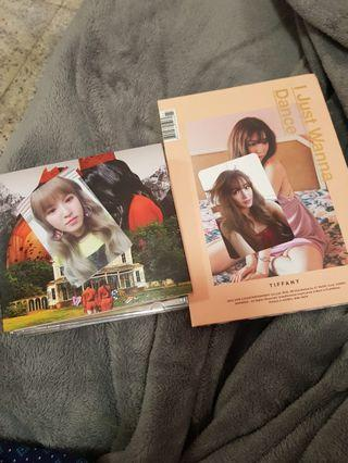 Red Velvet / SNSD Tiffany albums