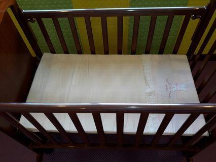 mambab天然乳膠嬰兒床墊 附布套