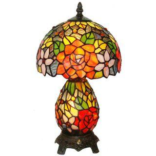 Antique Tiffany Lamp 蒂凡尼夜灯 荷花