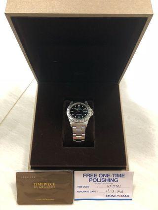Rolex explorer 2 16570 black dial , Tritium dial