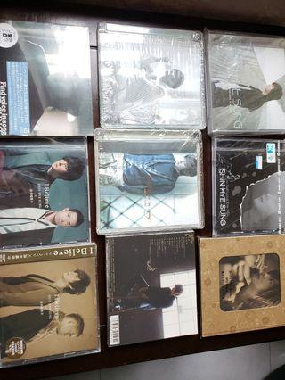 SHIN HYE SUNG 9 CDs