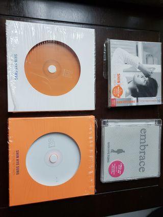 SHIN HYE SUNG 4 CDs