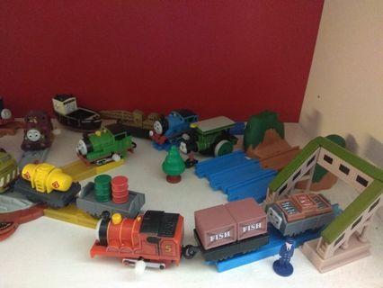 (全部的火車已絕版) 迷你Thomas and friends扭蛋