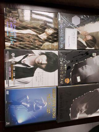 SHIN HYE SUNG 6CDs
