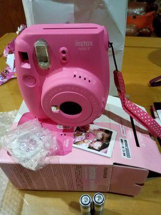 Sewa instax mini 9 polaroid paling murah sebandung!!