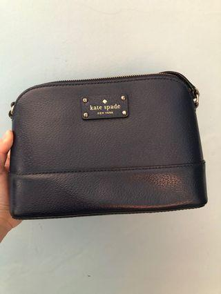 Kate spade hanna navy with lil' defect.