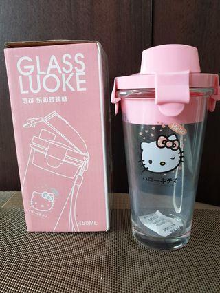 要買要快 全新鋼化玻璃加厚樂扣杯/450ml