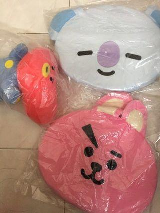 🚚 [Instock] BT21 Seat Cushion and Headrest