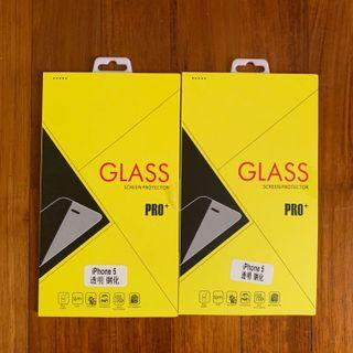 iphone 5/SE tempered glass