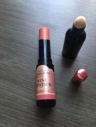 Labiotte wine lipstick