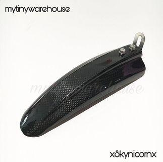 Carbon Fibre Mudguard for DYU Fiido AM Tempo Venom