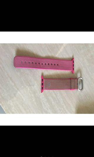 Apple iWatch Pink Strap