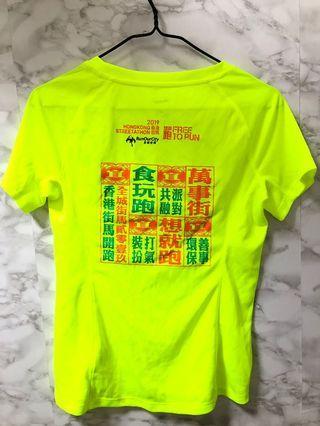 T Shirt螢光 (運動跑步)