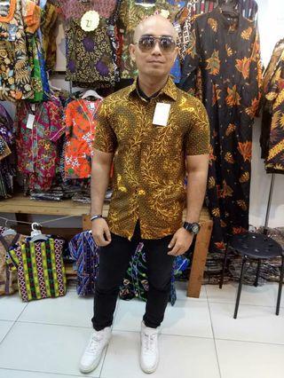 Batik kemeja raya