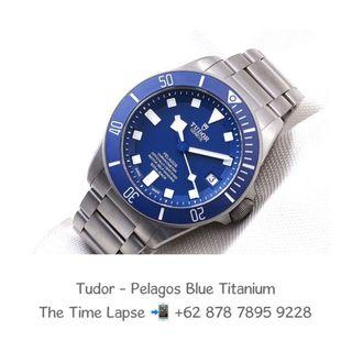 Tudor - Pelagos Blue Dial Titanium